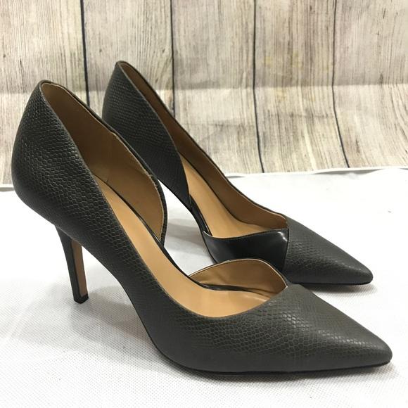 Nine West Shoes   Dark Gray Heel New